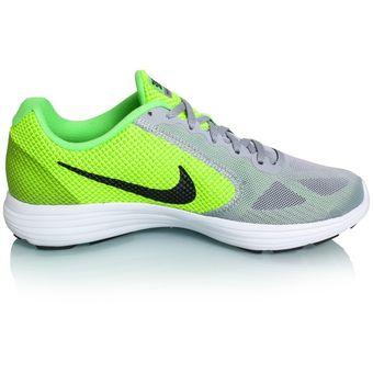 9baf8842f Compra Zapatos Running Hombre Nike Revolution 3-Verde online