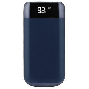 77e97a265c8 50000mAh Banco de potencia con pantalla LCD Linterna cargador externo de  batería azul