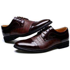 1d0ed14b Zapatos Mocasines E-Thinker de Ecocuero para Hombre-Marrón