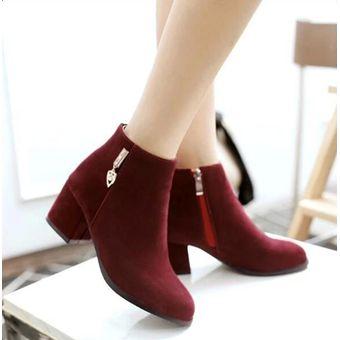 Boutique en ligne 0c56c d7e3e Nueva Llegada De Tacones Altos De La Plataforma De Las Mujeres Botas  Botines Zapatos De Moda Señoras Bombas Sexy