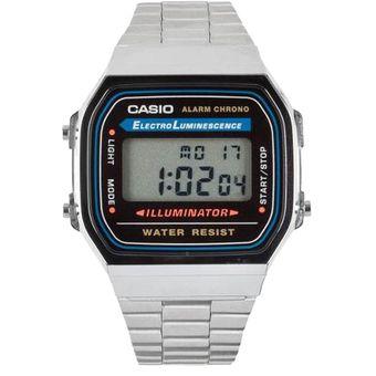 9af5929403b2 Compra Reloj Casio A 168 Wa 1w Para Hombre-Plateado online