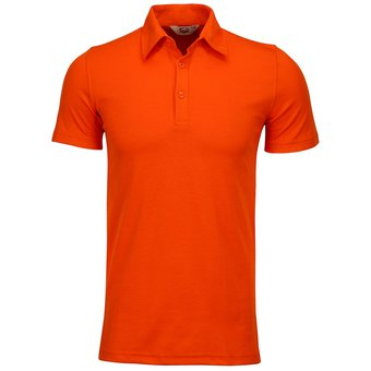 NOMBRE  Playera Caballero POLO Dry FIT Hombre Dacache Uniforme Empresarial  Ejecutivo Oficina Color-Naranja 17714e94d6b63