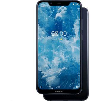 Nokia 8.1 Dual Sim (6GB, 128GB) 4G LTE TA-1119 – Azul