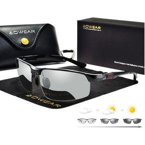 fa2384a308 Gafas de sol hombre fotocromaticas con UV400 y vidrios polarizados