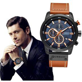 8a17345c060f Reloj Militar Curren Deportivo Cronógrafo Caballero Fechador
