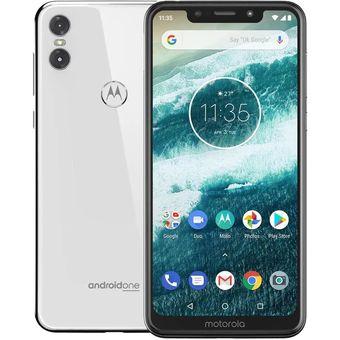 Celular Motorola One 64GB 4GB Dual Sim Desbloqueado – Blanco