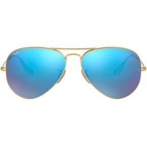 Lentes Ray-Ban Aviator Large Metal 0RB3025-Azul 0ab2509b9993