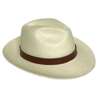 90840620d4c53 Compra Sombrero Apitara Beige Cinta Cuero online
