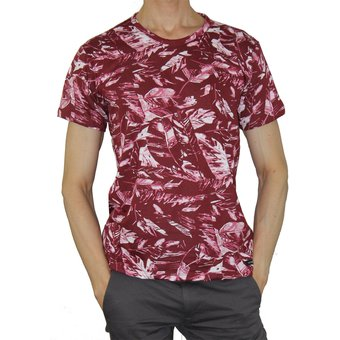 Compra Camiseta Aranzazu Cronulla Vinotinto Estampado Abstracto ... f45422317ad