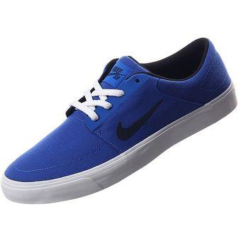 2f92c4b59 Compra Tenis Nike SB Portmore Canvas Para Hombre - Azul online ...