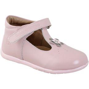 Zapatos Bubblegummers Para Bebé Samantha 114-5986 Cuero - Rosado