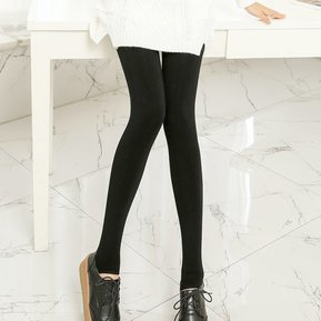 bf8896cbaf EW B113 polainas del algodón de la leche pantalones gris oscuro pies