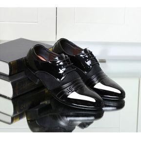 6240e19385 Negocios De Tamaño Grande La Manera Suave Boda Cuero Zapatos De Lujo De Los  Hombres Del