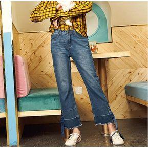 2b25023fd6d Pantalones de mezclilla de moda de mujer