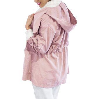 d6cbd06f77019 Compra Chaqueta Ligera Con Capucha De Moda Para Mujer Cazadora ...