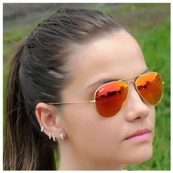 e0229ae6a4 switzerland ray ban aviator rb3025 espejados degrade 1e689 aee1f; canada  lentes de sol ray ban aviador rb3025 112 69 rojo naranja espejado 58mm  ba142 4a2f4