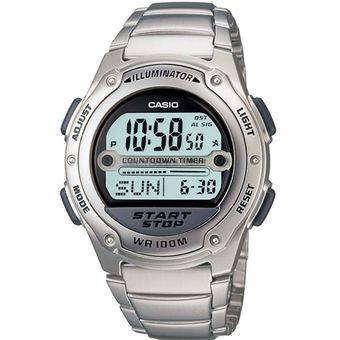 6d6c88d476f6 Compra Reloj Deportivo Casio W756D-7A-Plateado online