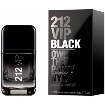 212 Vip Men Black de Carolina Herrera Eau de Parfum 50 ml