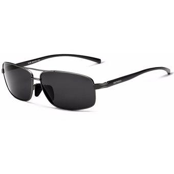 10b57ac85f Compra VEITHDIA Elegantes Gafas De Sol Polarizadas Gafas Negro ...