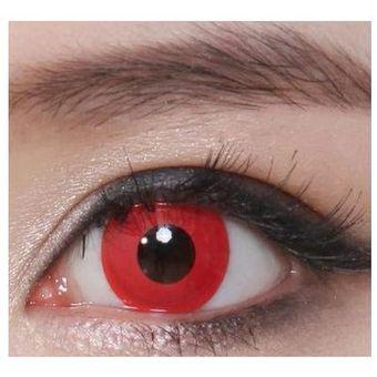 d230daec6d381 Lentes de Contacto Vampiro Pupilentes Disfraz Halloween Cosplay - Rojos