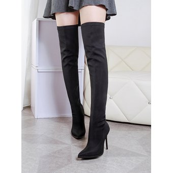 2a276868c2 Compra Botas Largas Material Spandex Tailun-cool Mujer-Negro online ...