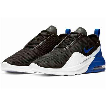 754947dc2544d Agotado Tenis Nike Air Max Motion 2 Negro Azul Blanco Originales Ao0266 001