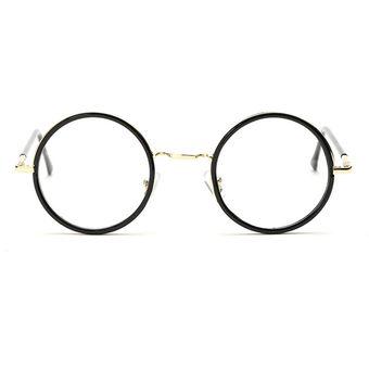 Agotado Las Lentes ópticas Vintage ópticos Gafas Redondo Los Anteojos  Grande Marco Estudiante Miopía -N D 49397fcccab1