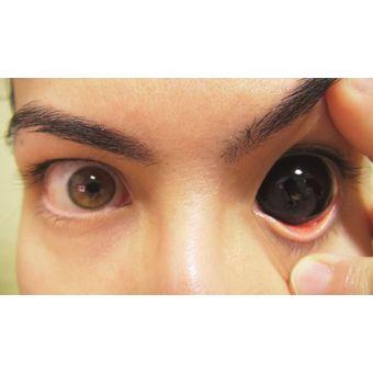 f14075a805 Agotado Lentes de Contacto Black Sclera Pupilentes de 22mm Disfraz  Halloween Cosplay