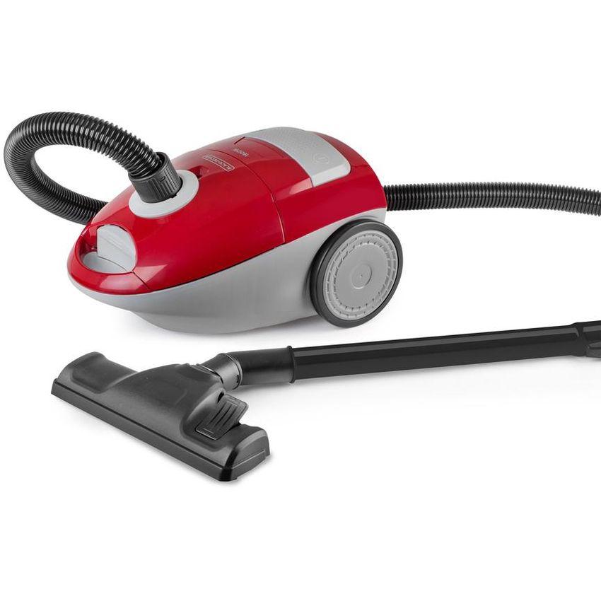 Aspiradora de Bolsa Black+Decker, Rojo VCBD603