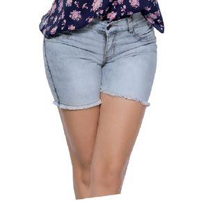 Short Juvenil Para Mujer Marketing Personal 55550 Azul fd3d17ba3d4