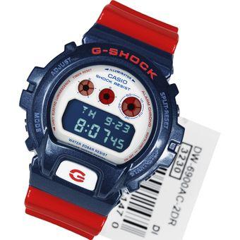 fe38639204f1 Compra RELOJ CASIO G-SHOCK-DW-6900AC-2-ROJO CON AZUL online