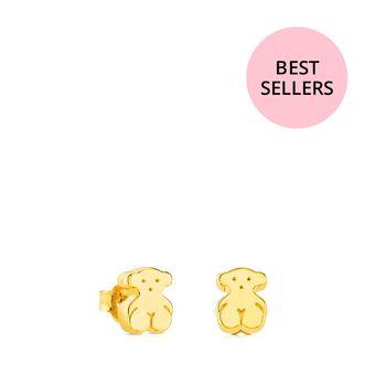 44225478f26c Pendientes TOUS Sweet Dolls 15913000 Dorado Mujer