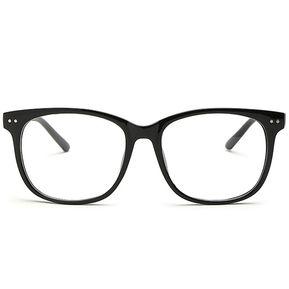 Agotado Moda Las Lentes ópticas Hipster Gafas Grande Cuadrado Los Anteojos  Marco Miopía -Negro 949f8a39406c