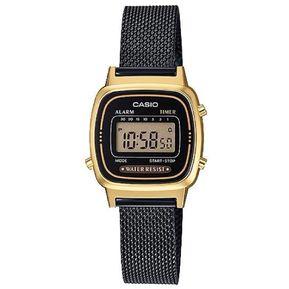 0ed02af844d1 Reloj Casio Retro LA670WEMB-1D Pulso Diseño Maya Color Negro