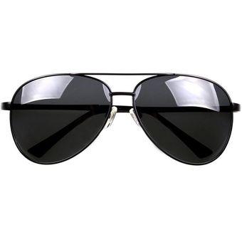 ee4515a67a Agotado Lentes De Sol Gafas Aviador Piloto Para Hombre Mujer Vacaciones  Negro