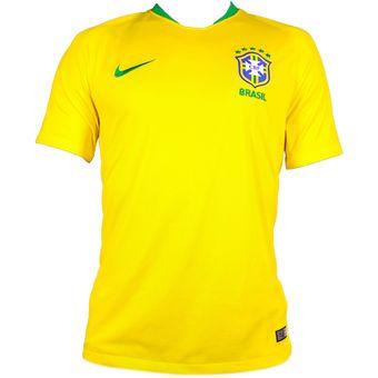 ca4136a217ff1 Compra Jersey Local Selección Brasil Rusia 2018 - Hombre online ...