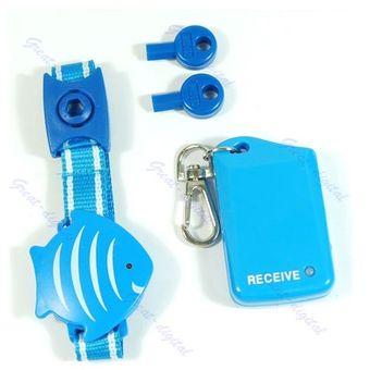 último clasificado garantía limitada venta directa de fábrica Brazalete Localizador de niños WHIRSTBAND JB15-Azul