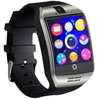 Reloj Smartwatch Q18 Gadgets One Pantalla Curva Celular Camara Bluetooth -  Negro 4ef1caf3f7d