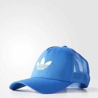 258f88fa93e2a Compra Gorra Adidas Aj8955 Trefoil Trucker - Azul online