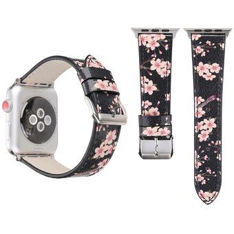 2019 original elige genuino la mejor actitud Correa de reloj de pulsera de cuero para Apple Watch Series 3 & 2 & 1 38mm