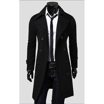 Abrigo largo de caballero