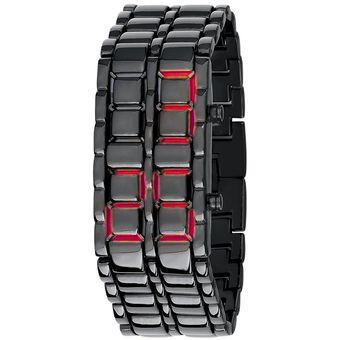 966e58a703ce Reloj Para Hombre Digital Modelo Samurai BlackMamut Tipo Pulsera Metalica  Diseño Casual Incluye Estuche Blister -