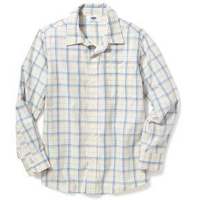 a020dc2a328b9 Camisa Manga Larga Old Navy Para Niño Estilo  206863 Cuadros