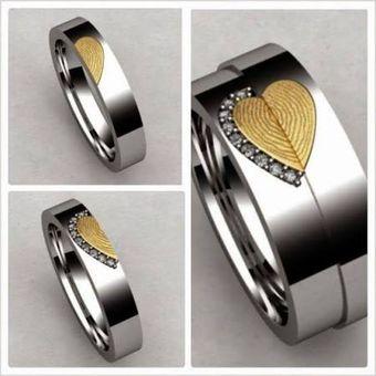 fb762284be05 Argollas Infinity Love en Oro de 18 Kt y Plata ley 950 ADa117- Plateado