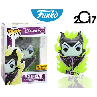 Malefica Hot Topic Exclusive Funko Pop Pelicula Disney Maleficent Envio Gratis