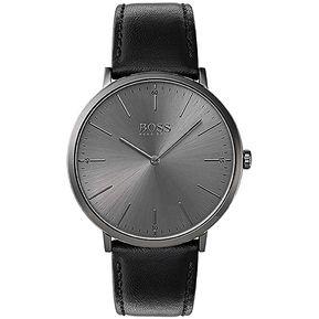 2bf1bd9b5525 Reloj Análogo Marca Hugo Boss Modelo  1513540 Color Gris Para Caballero