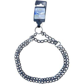 f44474daaa5b Collar de ahorque - acero cromado de 55 cm y 2.5 mm de espesor - Croci