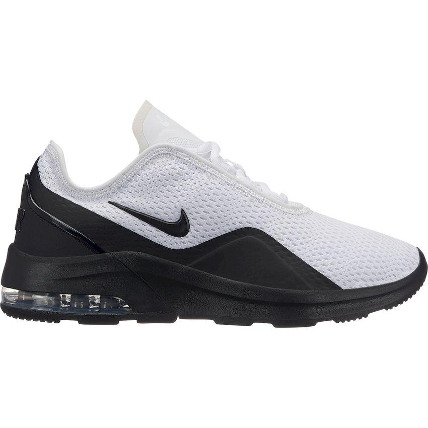 Tenis Running Mujer Nike Air Max Motion 2-Blanco con Negro + medias de  regalo