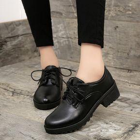 028caca3f0 2018 Mujeres De Primavera Estilo De Gran Bretaña Zapatos Oxford