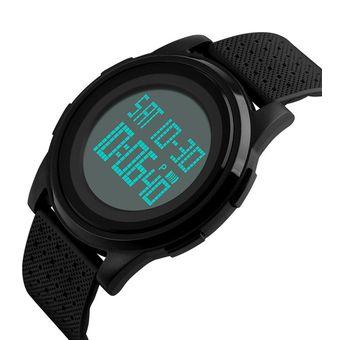 c4113da7ca52 Compra Hombre Simple Reloj Negro Jóvenes Skmei Deportivo Digital ...